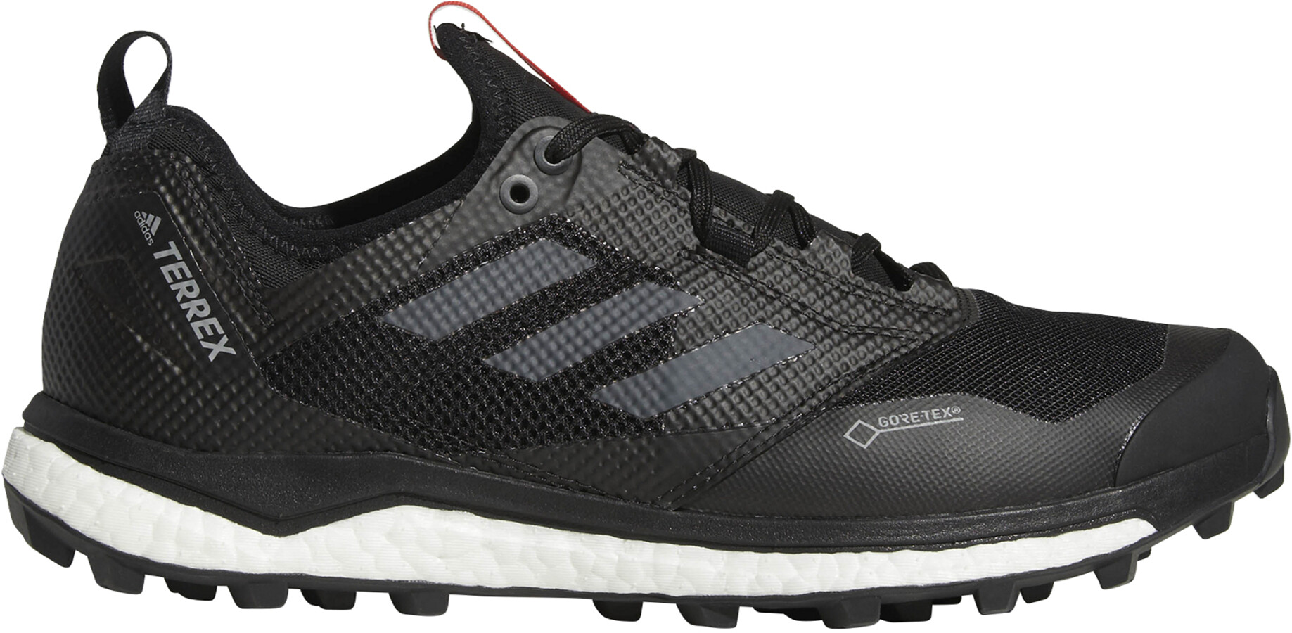 adidas TERREX Agravic XT Gore Tex Trailrunning Schoenen Heren, core blackgrey fivehi res red